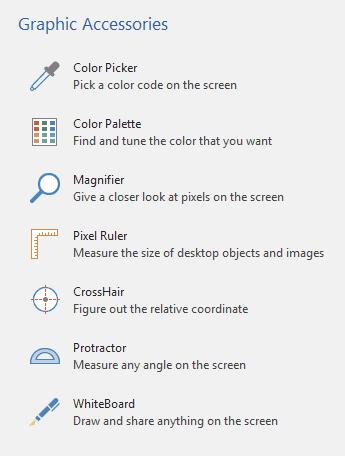 PicPick Graphic Accessories